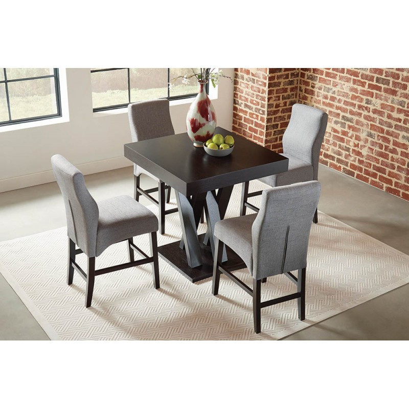 Mannes Contemporary Cappuccino Dining  Sets