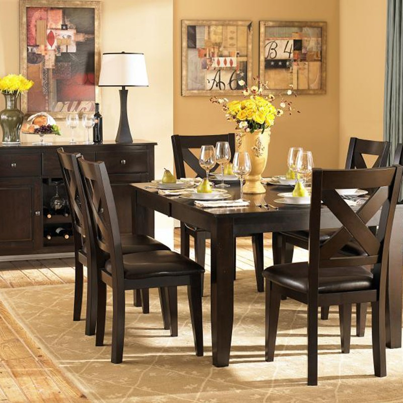 Crown Point Collection Dining Room Set