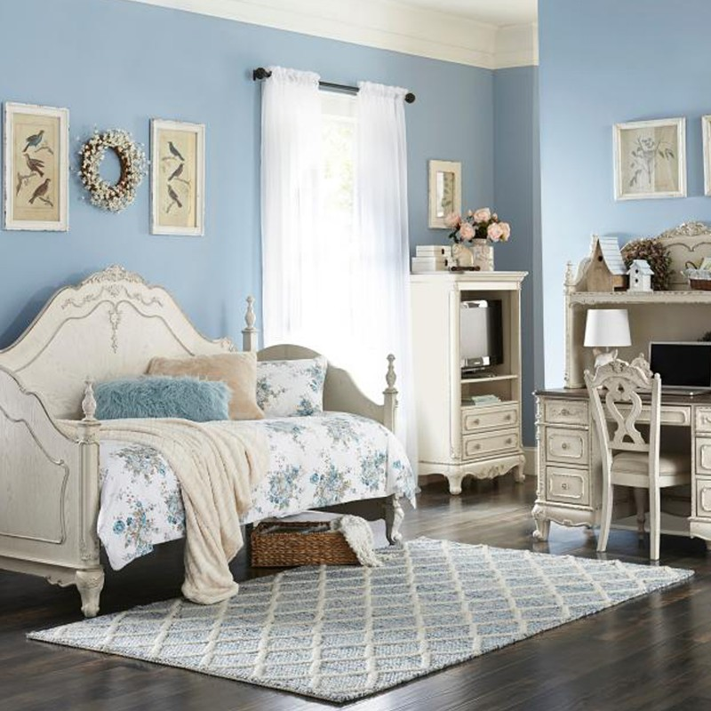 Cinderella Collection's Daybed, Writing Desk Hutch, Writing Desk, Chair and Armoire