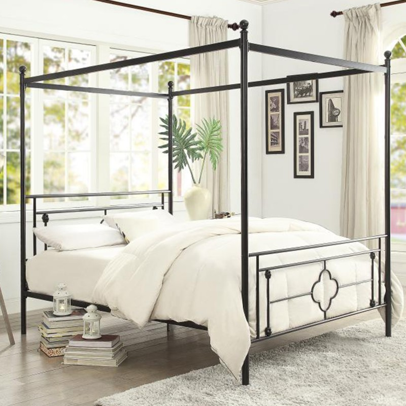 Hosta Collection's Canopy Platform Bed