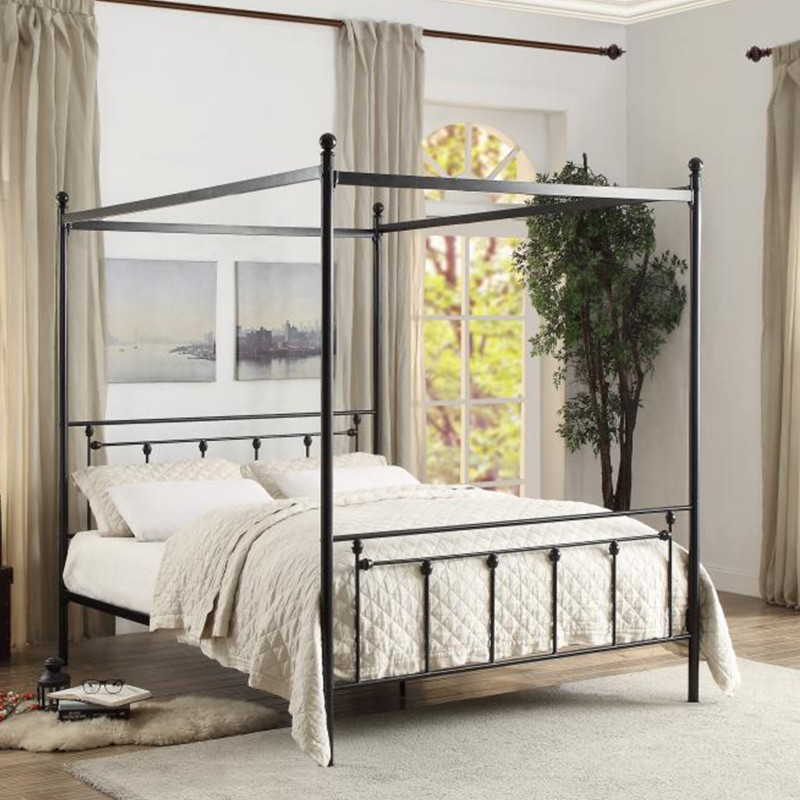 Chelone Collection's Canopy Platform Bed