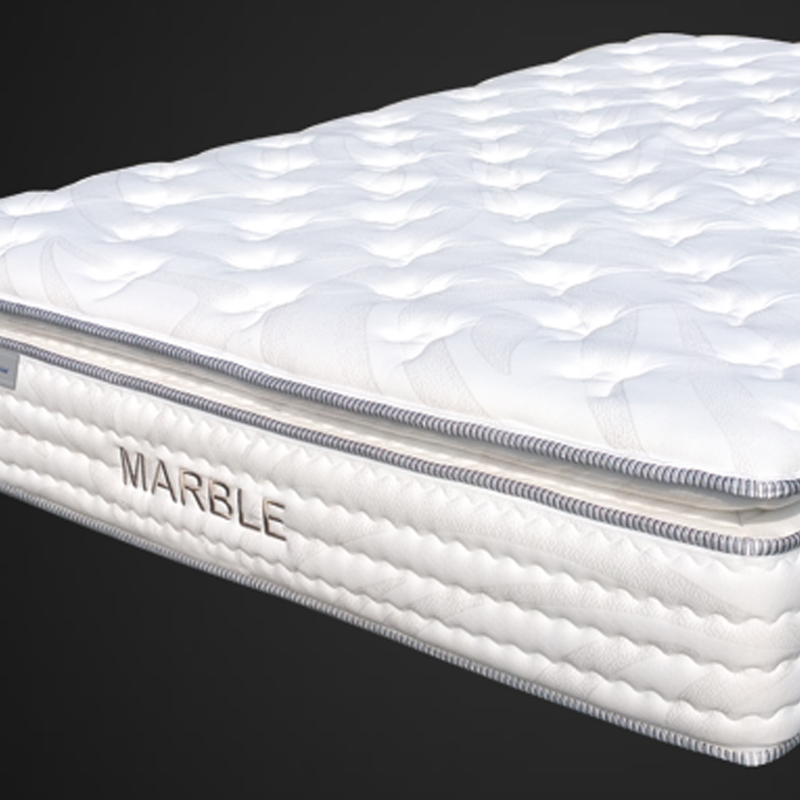 MARBLE MEMORY FOAM INNERSPRING PILLOW TOP MATTRESS