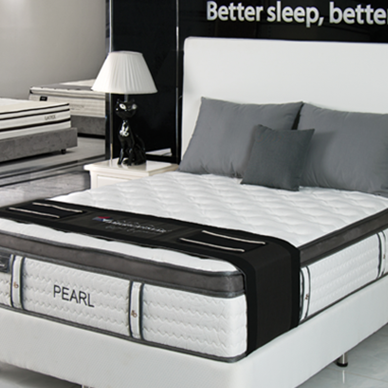 PEARL POCKET COIL BOX TOP MATTRESS