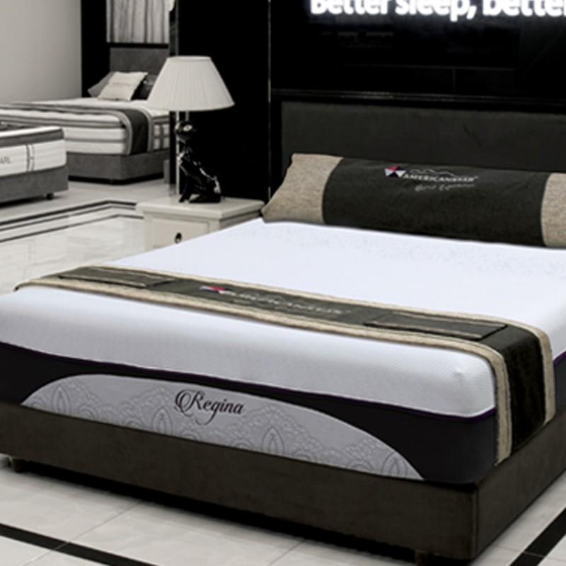 REGINA MEMORY GEL FOAM LUXURY TOP MATTRESS