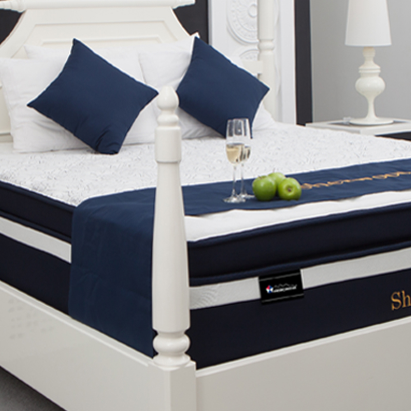 SHERWOOD LATEX 7-ZONE POCKET COIL BOX TOP MATTRESS