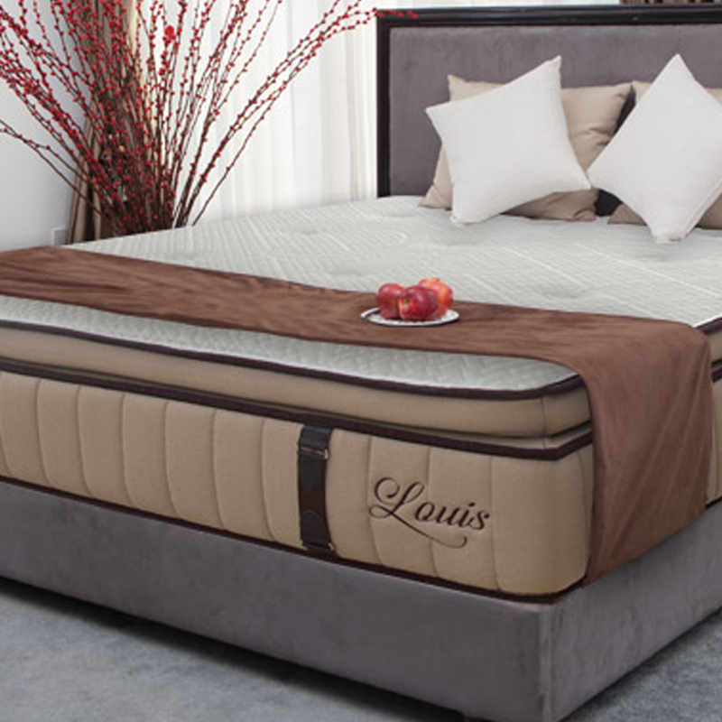 LOUIS OUTER-TUFTER POCKET COIL PILLOW TOP MATTRESS