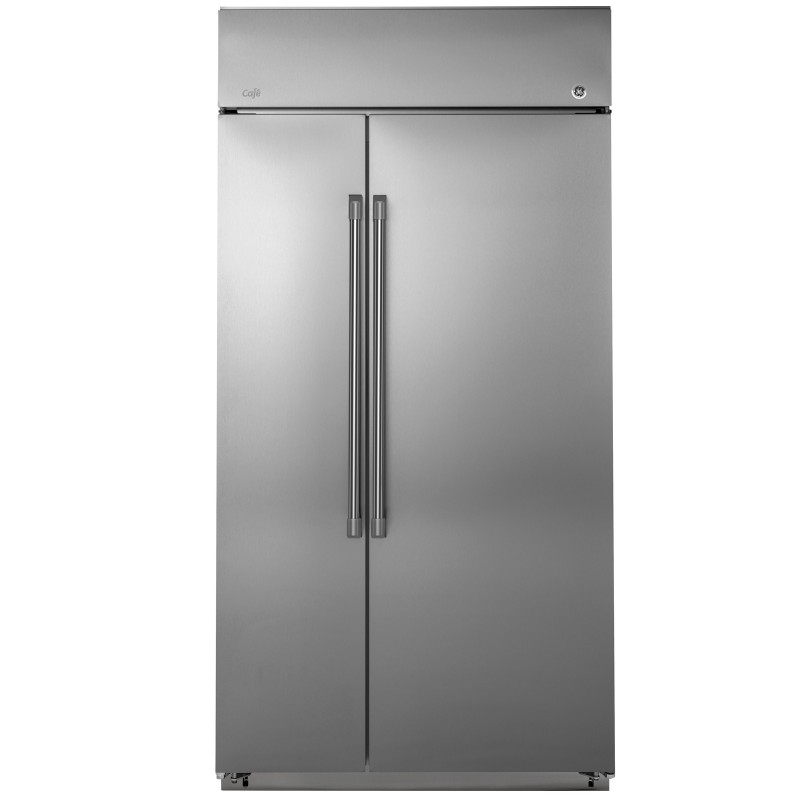 "GE Café™ Series 42"" Built-In Side-by-Side Refrigerator"