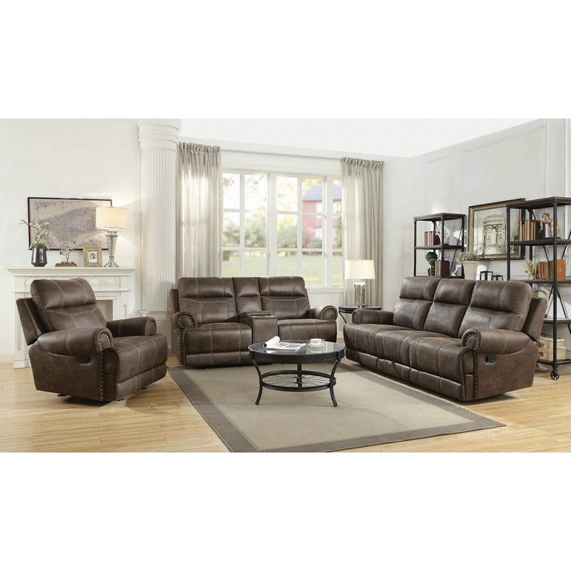 Brixton 2-Piece & 3-Piece Living Room Set Buckskin Brown