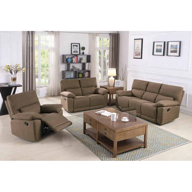 Foxton 2-Piece & 3-Piece Living Room Set Tan